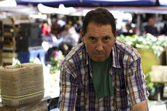 Rude man (giuggilopre) Tags: man portrait street sicily fruit shop streetphotography color catania city photo colorful