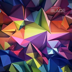 Abstract geometric background (shadowbilgisayar) Tags: background geometric geometrical wallpaper decoration triangle corporate business concept presentation bright symbol template light graphic decor element digital card technology shape abstract modern diamond creative illustration retro futuristic backdrop texture web design cover color trendy colorful blue mosaic poster banner art style hipster pattern identity 3d belarus