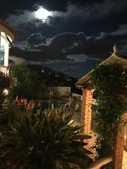 Every cloud has a silver ..,,,,,,, (South Strand Trucking) Tags: star bar mondron cassa cassandra house villa light dark frogs clouds sky spanish spain moncton nightsky moon
