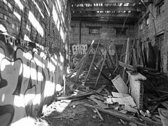 sgs18a (daily observer) Tags: abandonedtrainstation graffiti urbanruins philadelphia abandoned abandonedphiladelphia philadelphiagraffiti