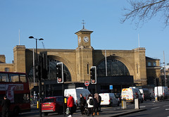 Kings Cross railway station.  London, UK.  March 24 2017. (Dan Haneckow) Tags: 2017 london kingscross depots