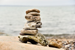 Stones (Flemming Andersen) Tags: close macro vand sten stone natural nature seaside water stones