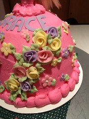 Barbie Cake (Sweet Cheeks Cake Shop) Tags: cake birthday buttercream doll barbie sweetcheekscakeshop