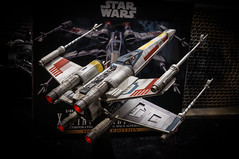 BANDAI 1/48 Scale STARWARS X-WING STARFIGHTER MOVING EDITION (Otaka0706) Tags: bandai 148 scale starwars xwing starfighter moving edition