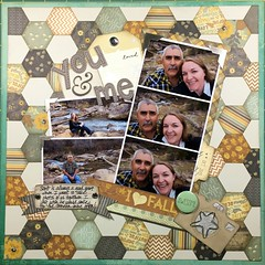 You and Me (girl231t) Tags: 2016 scrapbook paper 6x6paperpadlove scraplifted layout 12x12layout