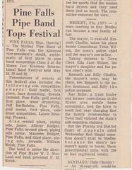 Stirling Pipe Band Pine Falls Newspaper Articles-13 (Hugh Peden) Tags: stirling pipe band pine falls manitoba major william bill macleod
