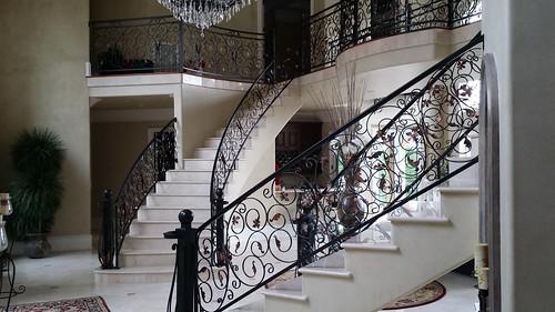 Elegant curve stair