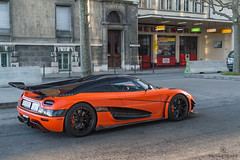 Solitary (Beyond Speed) Tags: koenigsegg agera xs supercar supercars car cars automotive automobili nikon v8 orange carbon geneva geneva2017