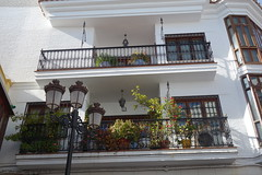 In Nerja (*Tom68*) Tags: spanien spain espana nerja outdoor haus house balkon balcony balcon laterne lantern fenster windows