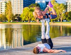 Fitness-Shoot--001-5 (keithob1 Over 1.5 Million views - Thank you) Tags: fitness balance smile man woman
