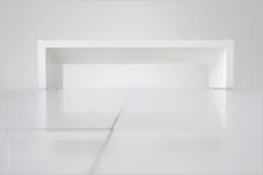 white bench 195 (KZRES - José Miguel Romero) Tags: blanco forma linea geométrica geometria geometry line banco bench arquitectura interior architecture proporción
