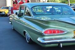 6th Annual Whittier Area Classic Car Show (USautos98) Tags: 1959 chevrolet chevy hotrod streetrod custom