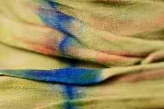Silk Scarf (j.towbin ©) Tags: allrightsreserved© textile fabric macro silk shibori img0599 macromondays clothtextile