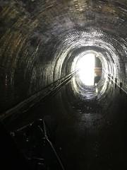 Harecastle Tunnel, north portal (mattgilmartin) Tags: harecastle tunnel canal narrowboat iphone