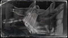 Possess(ed)-9652 (Poetic Medium) Tags: mother fabric gloves stilllife blackandwhite kitcamghostbird blender hipstamatic possession vintage ipod