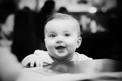 Hanna (Daniel Zwierzchowski) Tags: hanna children people black white bnw blackandwhite bw monochrome canon rebel t2i eos550d eos 550d 50mm portrait baby girl