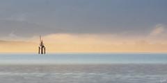 Just after sunrise at Lake Constance (johaennesy) Tags: bodensee friedrichshafen glockenschlagspiel mist morning soft warm gimp rawtherapee lake water