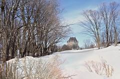 Le Château Frontenac. (odeber) Tags: québec obernard châteaufrontenac hiver winter