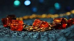 058 (5) Twilight Attire (srypstra) Tags: necklace costumejewelry bokeh macromondays orangeandblue