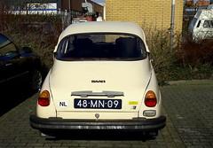 1976 Saab 96L V4 (Dirk A.) Tags: sidecode3 onk 48mn09 1976 saab 96l v4
