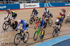 SCCU Good Friday Meeting 2017, Lee Valley VeloPark, London (IFM Photographic) Tags: img5262a canon 450d ef2470mmf28lusm ef 2470mm f28l usm lseries leevalleyvelopark leevalleyvelodrome londonvelopark olympicvelodrome velodrome leyton stratford londonboroughofwalthamforest walthamforest london queenelizabethiiolympicpark hopkinsarchitects grantassociates sccugoodfridaymeeting southerncountiescyclingunion sccu goodfridaymeeting2017 cycling bike racing bicycle trackcycling cycleracing race goodfriday