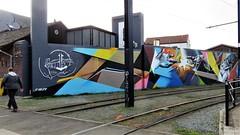 CAZN / Guislain - 3 apr 20173 (Ferdinand 'Ferre' Feys) Tags: gent ghent gand belgium belgique belgië streetart artdelarue graffitiart graffiti graff urbanart urbanarte arteurbano