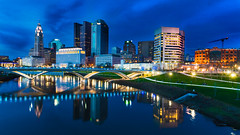 Columbus Skyline (Iulian Gheorghita) Tags: columbus skyline downtown ohio sony nex f3 tamron 18 200