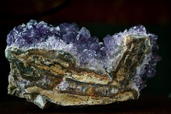 other side of the amethyst (hshatlden) Tags: hollistic nikond3100 nikonusa nikontop cutamethyst amethyst mineral crystal geode