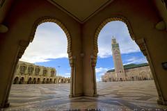 To honor King Mohammed V death in 1961 (T Ξ Ξ J Ξ) Tags: morocco casablanca fujifilm xt1 teeje fujinon1024mmf4 hassan mosque masjid honor day
