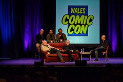 Game of Thrones Actors (James O'Hanlon) Tags: wales 2017 comic con wrexham opie ryan hurst game thrones mick foley lita amy dumas john rhys davies buffy event photos pictures