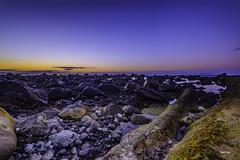 Atlántico infinito (libretacanaria) Tags: atlántico mar sea norte north grancanaria canarias arucas stones piedras blue azul agua sunset atardecer sky cielo nikond610 atlantic océano ocean nikon1635