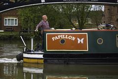 Water Boatman (IAN GARDNER PHOTOGRAPHY) Tags: canal inlandwaterway narrowboats waters warwickshire boats coventry papillon