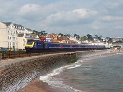 43028 Dawlish (Marky7890) Tags: gwr 43028 class43 hst 1u09 dawlish railway devon rivieraline train