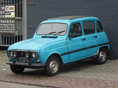 1977 Renault 4 Safari (harry_nl) Tags: netherlands nederland 2017 hilversum renault 4 safari 23zd00 sidecode3