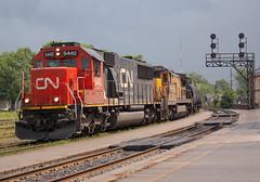 Someone's Seconds (Joseph Bishop) Tags: cn 5442 sd60 emd 2026 ge c408 trains train track tracks railfan railroad railway rail rails cndundassubdivision brantford