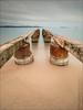 Théoules-sur-Mer (06) (Dany-de-Nice) Tags: france alpesmaritimes 06 théoulessurmer poselongue longexposure eau water mer sea méditerranée plage beach sable sand borddemer seaside ponton pontoon 6d 1635mm nd1000 gnd