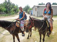 Puerto Escondito Horse rise in mountains-4