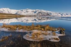 'Vatnajökull Reflections' - Iceland (Kristofer Williams) Tags: vatnajökull iceland glacier icecap reflections winter calm ice landscape sunshine mountain