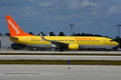 C-FTUA (Sunwing Airlines) (Steelhead 2010) Tags: sunwingairlines tuifly boeing b737 b737800 fll creg cftua