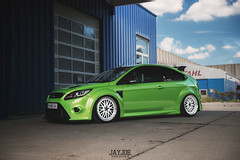 FORD FOCUS RS (JAYJOE.MEDIA) Tags: ford focus rs low lower lowered lowlife stance stanced bagged airride static slammed wheelwhore fitment bbs bbswheels
