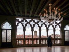 P1310130.jpg (Caffe_Paradiso) Tags: venice venezia ca doro balcony