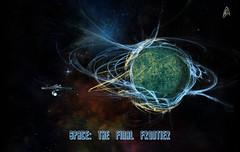 Star Trek (Jackie XLY) Tags: trek startrek startrektos tos scifi sciencefiction space outerspace thefinalfrontier spacethefinalfrontier enterprise fanart startrekfanart
