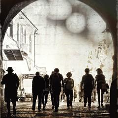 rshng (Vesa Reijonen) Tags: people outside together street strangers feeling