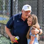CHS Var Mens Tennis vs DHS (Senior Night and Honoring Coach Rodgers) 4-19-2017 (EAW)