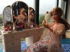 Lazy day beauty routine (Dutchdollenthousiast) Tags: pj dream date fashion avenue sindy pedigree vanity
