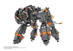 "Wulfaz ""Reaper"" Lupus WL.44 STA (Surveillance and  Target Acquisition) (Benjamin Cheh) Tags: afol lego mecha"