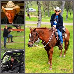 Yee haw (classymis) Tags: classymis horse cowgirl v6 composite cowboyhat carol