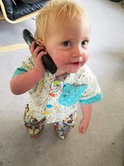 Hello? (quinn.anya) Tags: paul toddler phone imagination deodorant