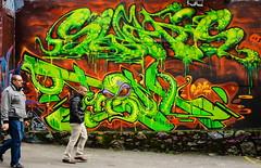 Octa-graffiti (jlee31180) Tags: graffiti street candid octapus vancouver downtown nikond7000 350mmf18