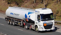 DAF CF Euro 6 - OILFAST Scotland (scotrailm 63A) Tags: lorries trucks tankers